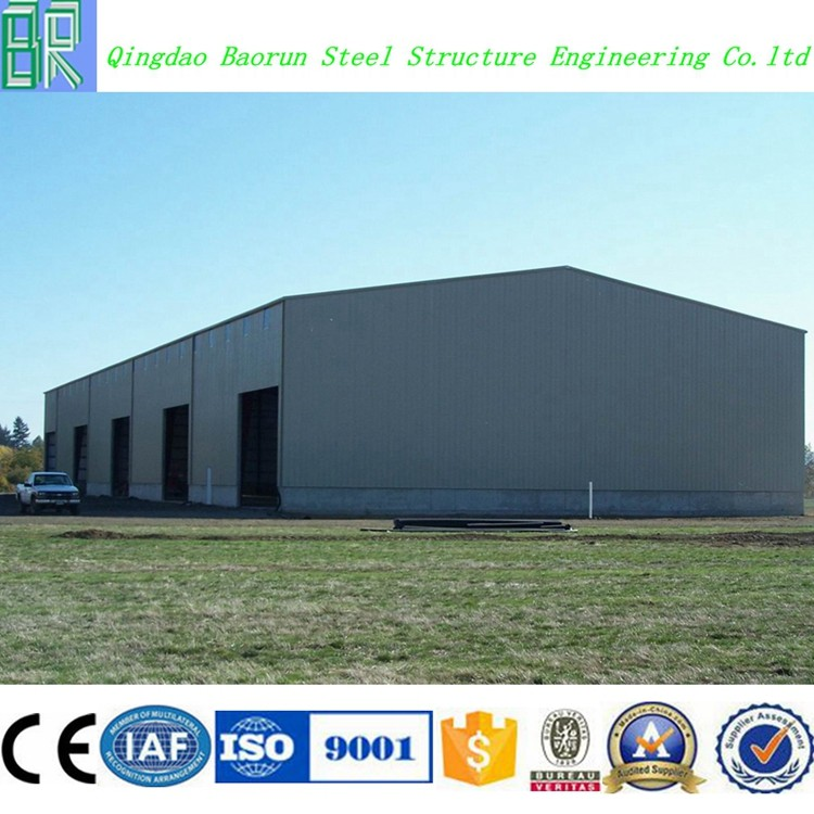 Light prefab warehouse steel structure drawing