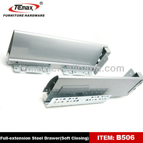 Hanging-Inserting Full Extension Cabinet Drawer Slide/Telescopic Slides/Heavy Duty Ball Bearing Slide