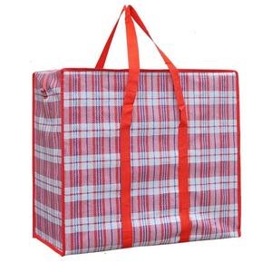 Large capacity waterproof plastic shopping pp woven bag