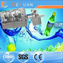 Carbonated Water Drinking Filling Machinery/Automatic Gas Water Plant