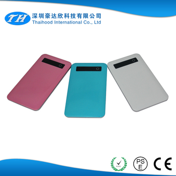New design usb power bank with low price