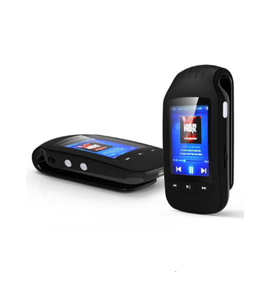 HOTT MU1037 BT Mini Clip mp3 player 8GB Portable MP3 Music Player Sport Pedometer TF Card Slot 1.8 Inches LCD Screen