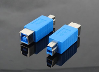 high quality for printer USB 3.0 B male to female connector adapter