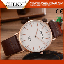 Wholesale China Factory Brand Best Sell Cheap Quartz Genuine Leather Watches In Bulk