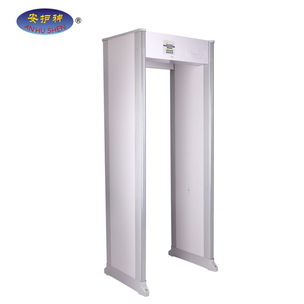 High Sensitivity 33 Zones Walk Through Metal Detector Security Metal Detector for Airport