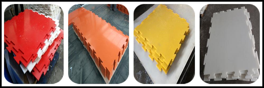virgin material PE1000 UHMWPE sheet for rollar skating rink flooring