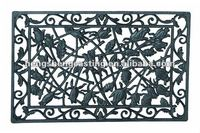 outdoor cast iron door mat