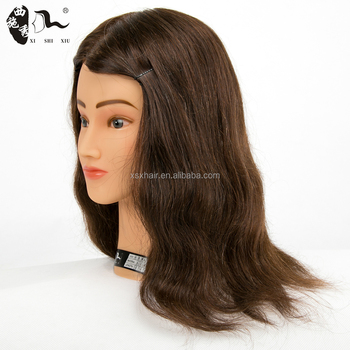 2018 beauty school mannequin practice head,manikin doll head with 100% human hair,teaching head