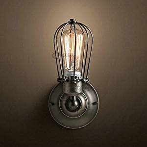 Modern decorative wall lamp American country retro bar counter lamps personalized home decor shop lamp, Zhongshan Lighting , 60