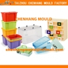 2016 recycled box plastic toy box mould for india maker