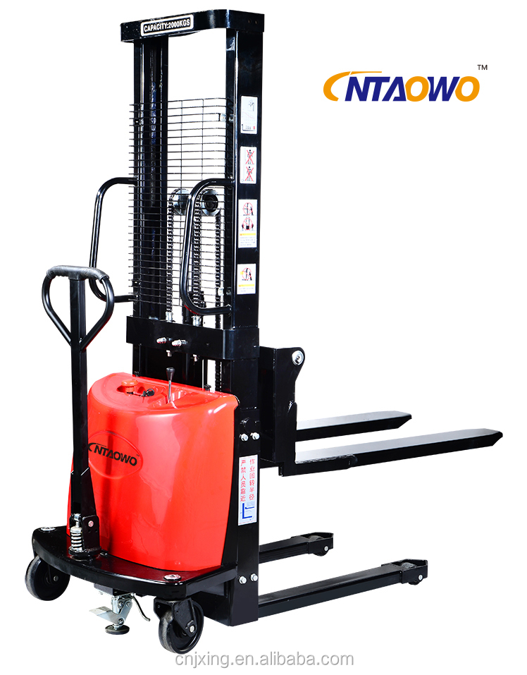 1.6m semi electric pallet truck pallet