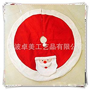 2015-New1piece Christmas tree skirts Santa Claus pattern christmas tree decorations 120CM Diameter new Year decoration for xmas tree