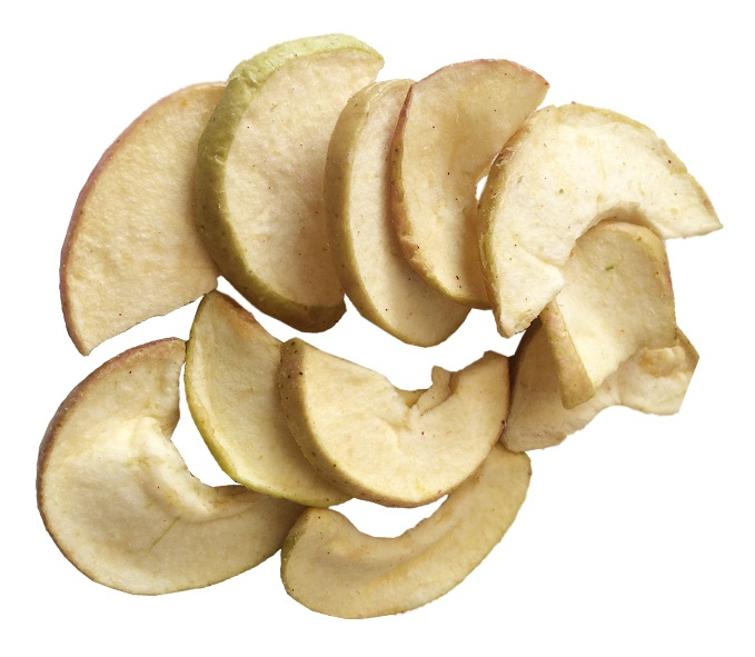 Vacuum Fried Apple chips VF healthy snacks fruit chips