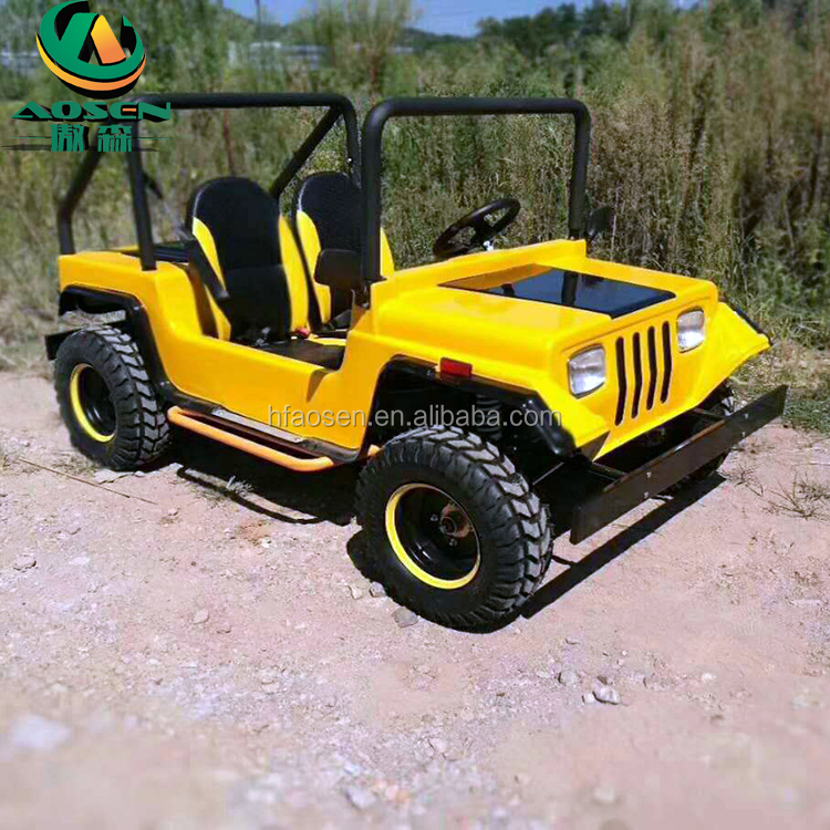 China Mini Willys Jeep 200cc Gas Car for golf course