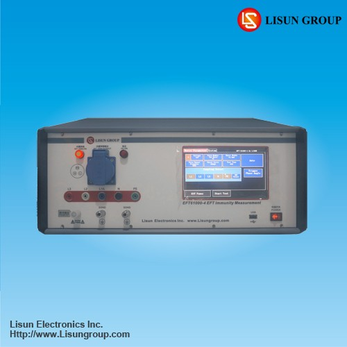 EFT61000-4 EFT immunity tester with super big LCD Touch screen applied for EMC electronic and electrical power measurement