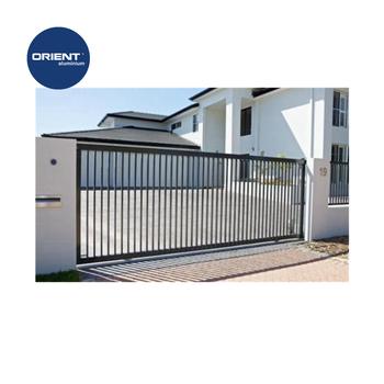 Aluminium Latest Main Gate Designs Auto Sliding Gate