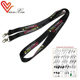 Cute Design Multiple Color 45Mm Men Neck Lanyard Strap With Swivel, Clasp, Charm, J Hook