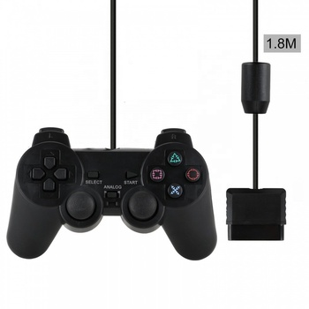 Wired controller para playstation ps2 joystick 2