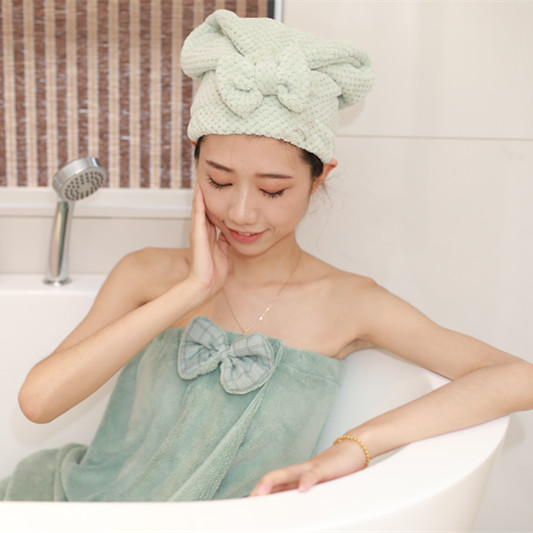 Shower cap for salon cap disposable shower hair turban <strong>towel</strong>