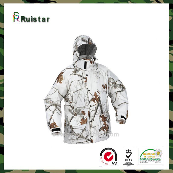 Mens Camo Electrical Heated Hunting Camouflage Jacket