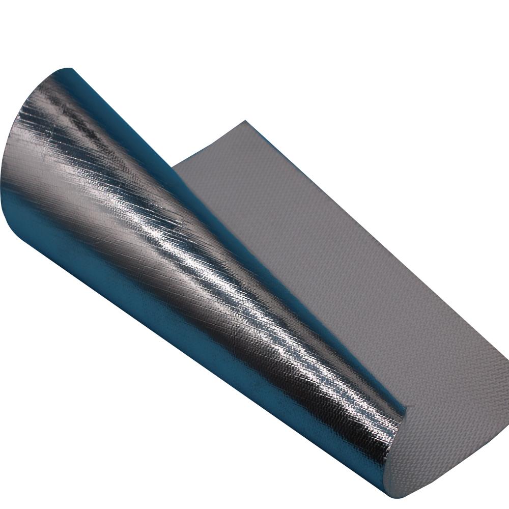 fiberglass aluminium foil fabric glass wool board with black fabric