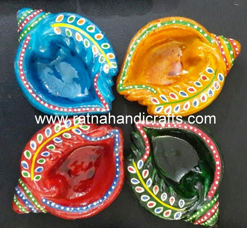 Diya High Quality Indian Handicrafts Clay Lamps