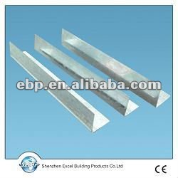 steel Depth Gauge plaster bead for Galvinized Wall angle/bead