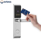 Orbita high quality hotel lock rfid, electronic keyless digital hotel smart key card door lock, hotel key card lock