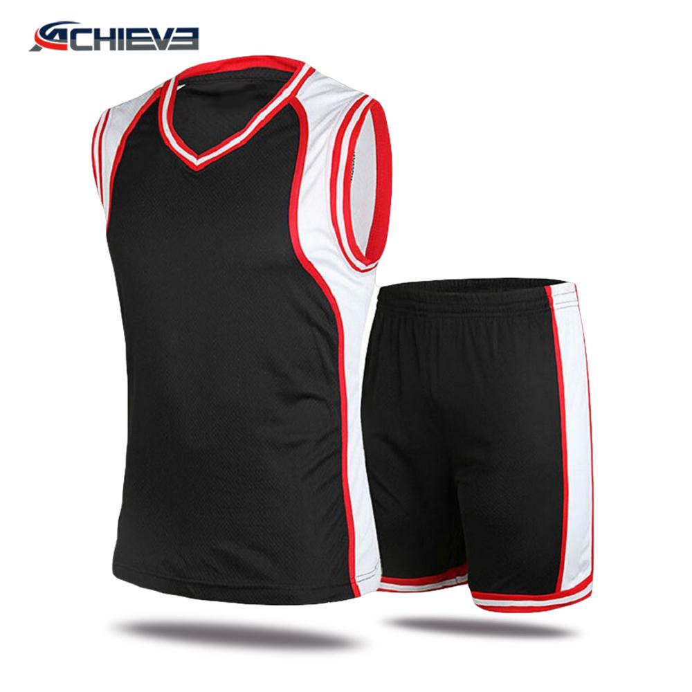 dadc9919d China wholesale latest best unique basketball jersey uniform design  sublimation custom basketball uniform