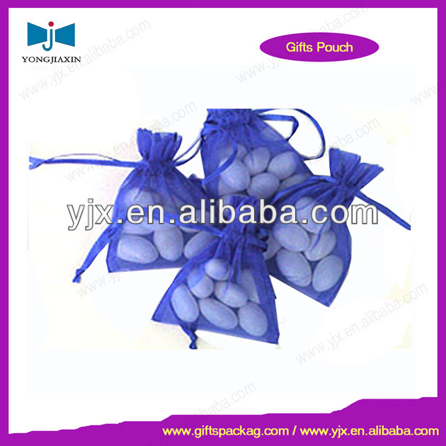 organza bag with rhinestone gift bag package