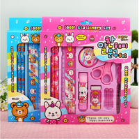 10 pieces Stationery set school supplies stationary kids stationery set