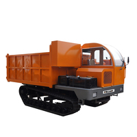 5Ton tracked carrier ,small agricultural crawler-type dump truck