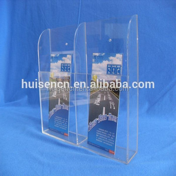 Acrylic Display Stand With One Pocket