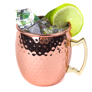 100% Food Safe Pure Solid Copper 18oz Moscow Mule Copper Mugs