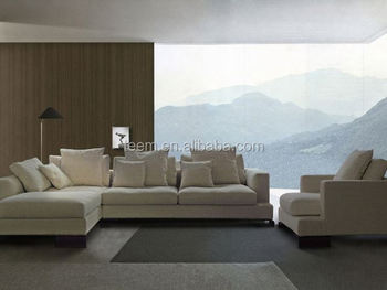 Modern italian fabric sofa set l corner sofa set divan for Divan name meaning
