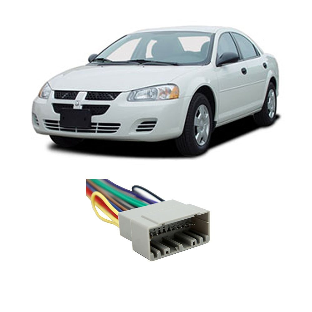 Dodge Stratus 2002-2006 Factory Stereo to Aftermarket Radio Harness Adapter