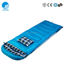 Easily taken Sleeping bag with pillow for camping