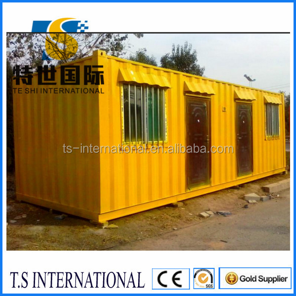 Luxury quality 40ft living container house, living 20ft container house, mobile