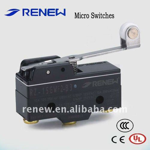 Z type with roller lever Waterproof microswitch