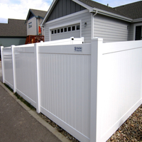 Fentech Factory Manufacturing PVC Privacy Home and Garden Fence