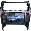 car dvd player with gps navigation for TOYOTA CAMRY 2012( middle-east and american version) with 3g, wifi