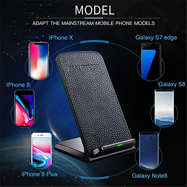 Most Favorable Unique Cell Phone Accessories Oem Wireless Charger Qi Fast Charging Wireless Charger Pad