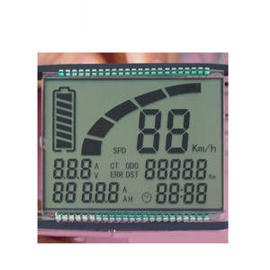 out door electric bike speed measurement mono lcd display