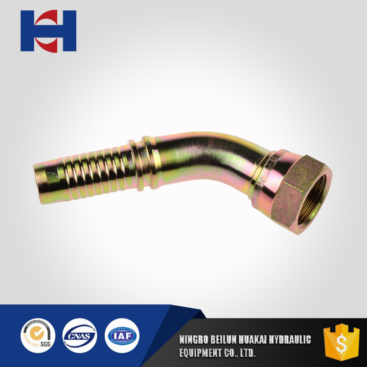 45 degree BSP Female 60 degree Cone Seal Fitting swage axially swaged fittings