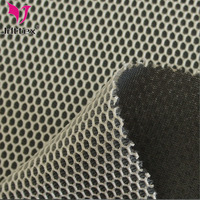 100% polyester 3D sandwich spacer air mesh knitted fabric