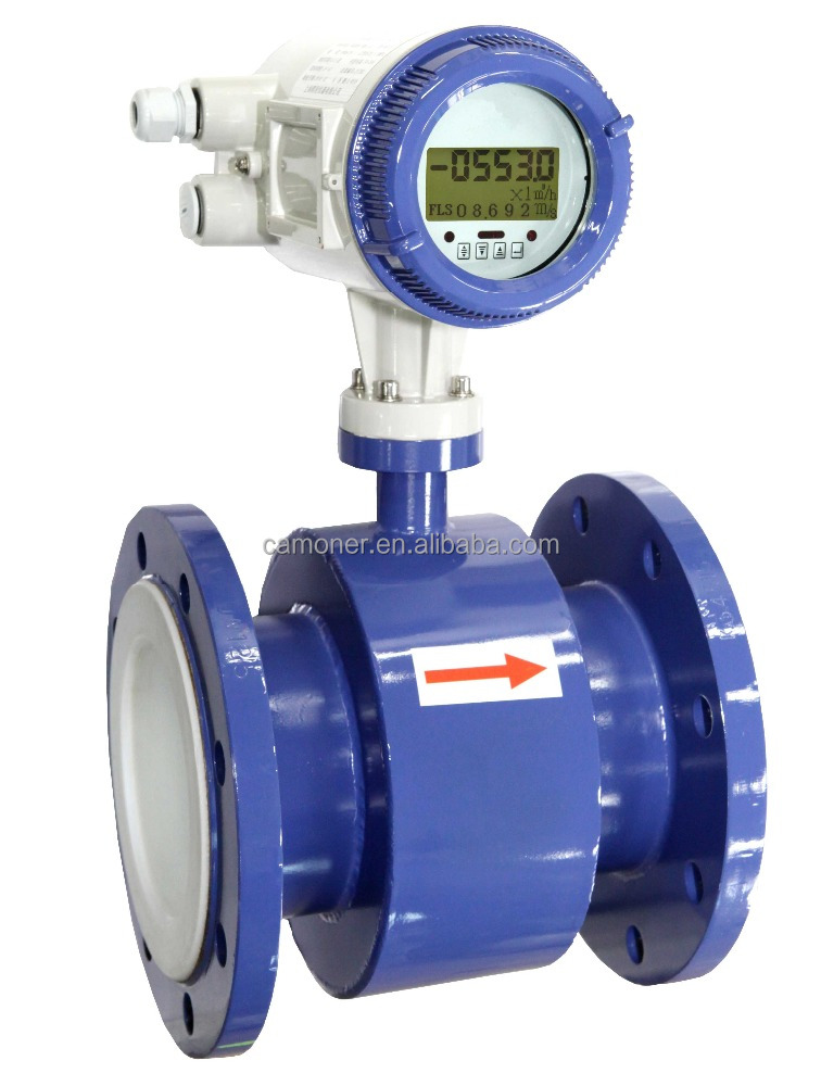 China Manufacturer Supply Intelligent hot sale electromagnetic flow <strong>meter</strong>