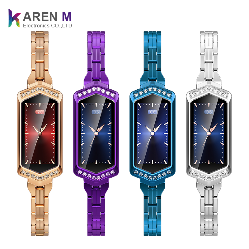 Alibaba.com / B78 Fashion smart bracelet women Fitness bracelet Heart Rate Monitor smartwatch blood pressure smart watch lady