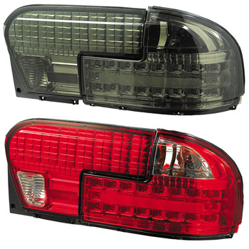 Vland 1992 Proton Wira LED Tail Lamp Smoke Black Red Car Accessory Factory  Wholesale Rear Light