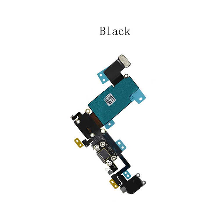 Factory USB charge port +dock connector flex for iphone 6splus charge flex cable