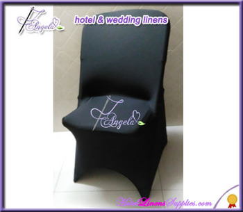 wholesale cheap black stretch folding chair covers for weddings